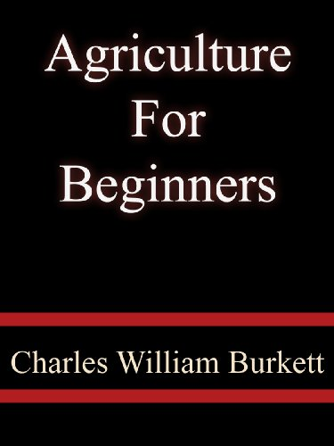 Large book cover: Agriculture for Beginners