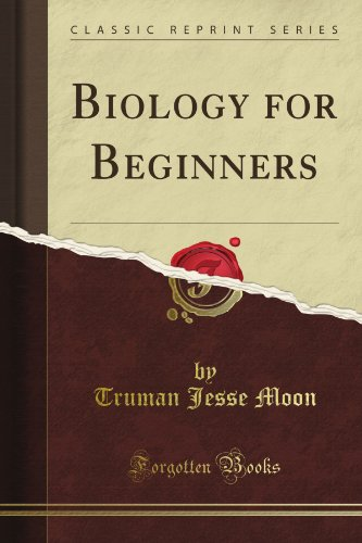 Large book cover: Biology for Beginners