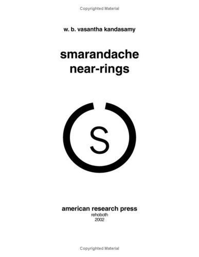 Large book cover: Smarandache Near-rings