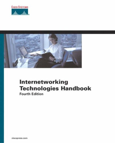 Large book cover: Internetworking Technology Handbook