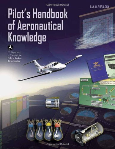 Large book cover: Pilot's Handbook of Aeronautical Knowledge