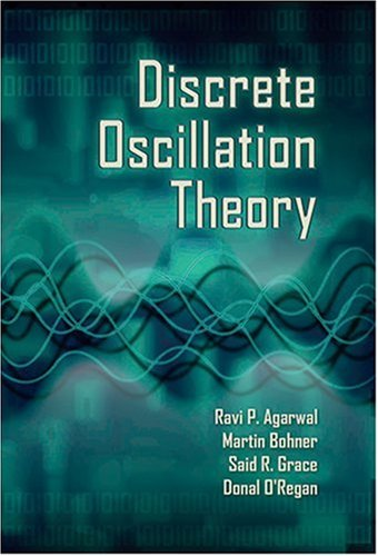 Large book cover: Discrete Oscillation Theory