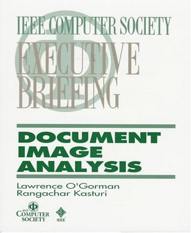 Large book cover: Document Image Analysis
