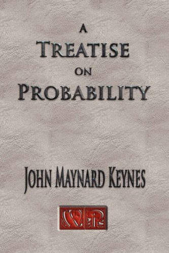 Large book cover: A Treatise on Probability
