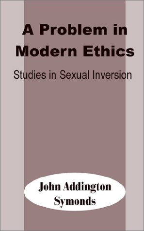 Large book cover: A Problem in Modern Ethics