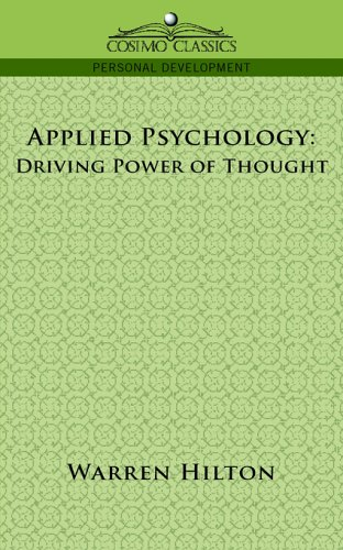 Large book cover: Applied Psychology: Driving Power of Thought