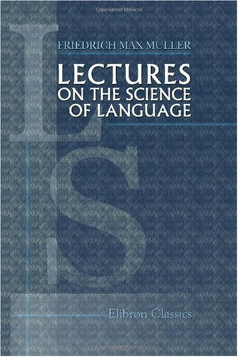 Large book cover: Lectures on The Science of Language