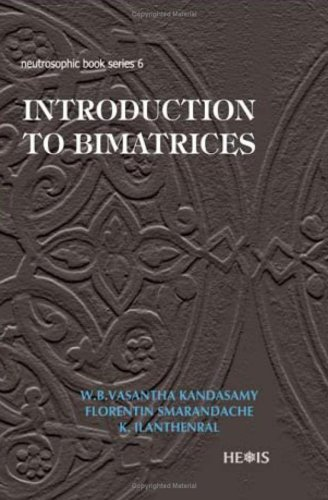 Large book cover: Introduction to Bimatrices