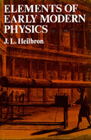 Large book cover: Elements of Early Modern Physics