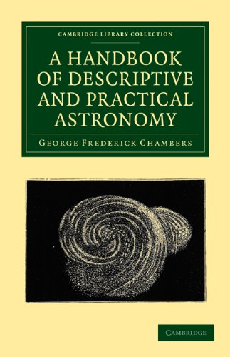 Large book cover: A Handbook of Descriptive and Practical Astronomy