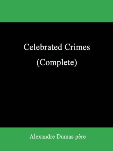 Large book cover: Celebrated Crimes (Complete)