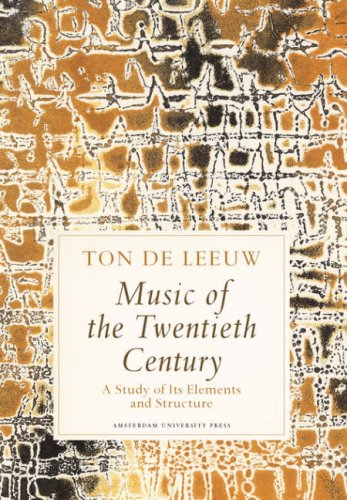 Large book cover: Music of the Twentieth Century