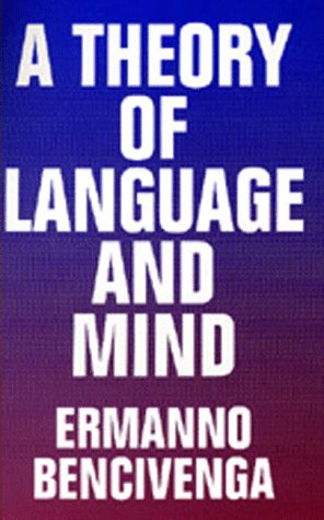 Large book cover: A Theory of Language and Mind