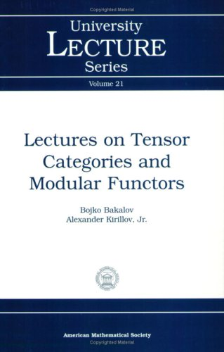 Large book cover: Lectures on Tensor Categories and Modular Functors