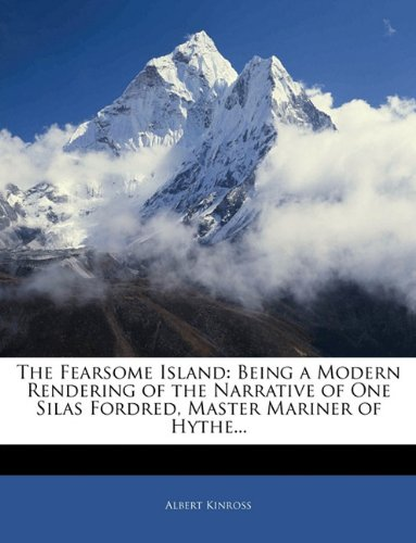 Large book cover: The Fearsome Island