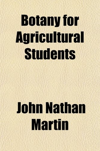 Large book cover: Botany for Agricultural Students