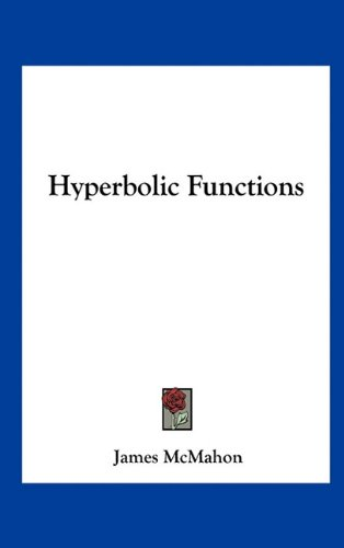 Large book cover: Hyperbolic Functions