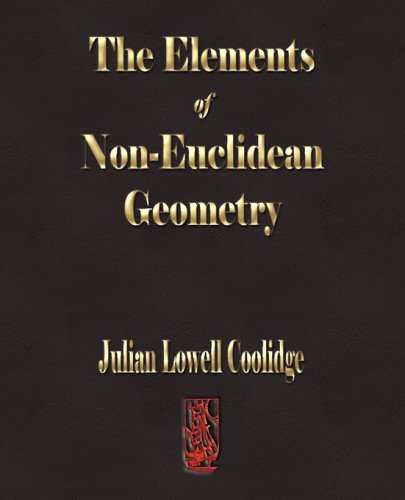 Large book cover: The Elements Of Non-Euclidean Geometry