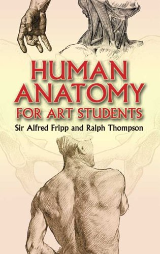 Large book cover: Human Anatomy for Art Students