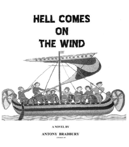 Large book cover: Hell Comes on the Wind