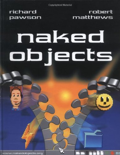 Large book cover: Naked Objects
