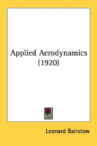 Large book cover: Applied Aerodynamics