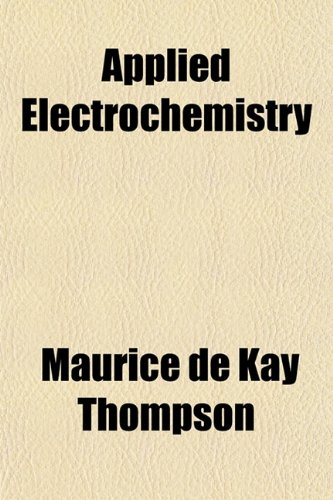 Large book cover: Applied Electrochemistry