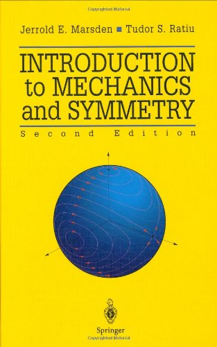 Large book cover: Introduction to Mechanics and Symmetry
