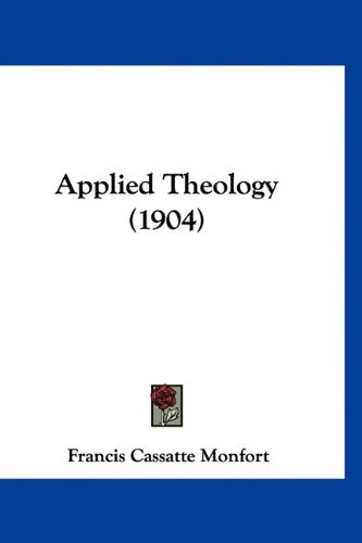Large book cover: Applied Theology