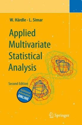 Large book cover: Applied Multivariate Statistical Analysis