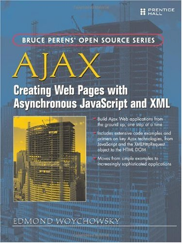 Large book cover: AJAX: Creating Web Pages with Asynchronous JavaScript and XML