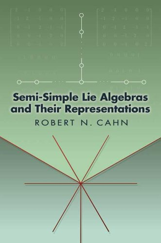 Large book cover: Semi-Simple Lie Algebras and Their Representations