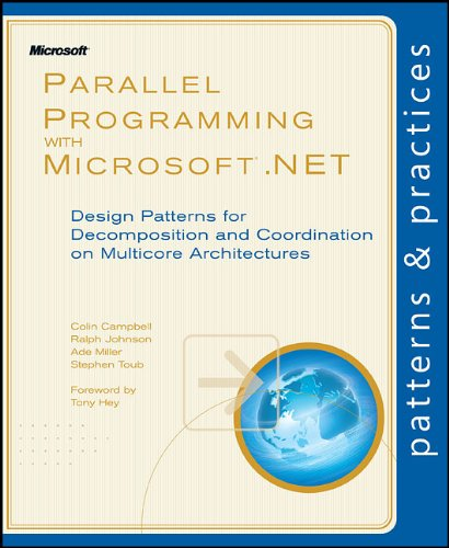 Large book cover: Parallel Programming with Microsoft .NET