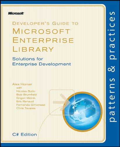 Large book cover: Developer's Guide to Microsoft Enterprise Library, C# Edition