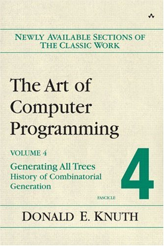 Large book cover: The Art of Computer Programming, Volume 4