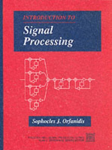 Large book cover: Introduction to Signal Processing