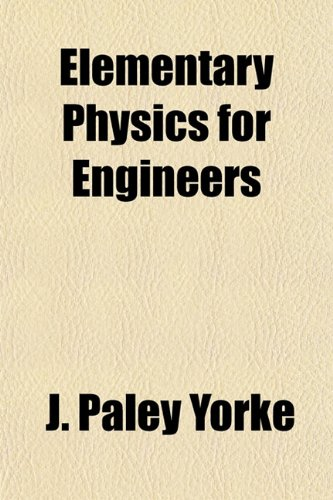 Large book cover: Elementary Physics for Engineers