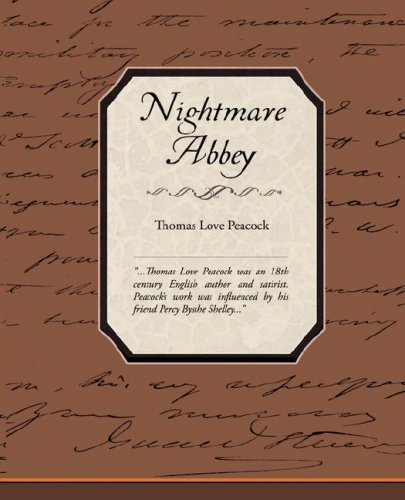 Large book cover: Nightmare Abbey