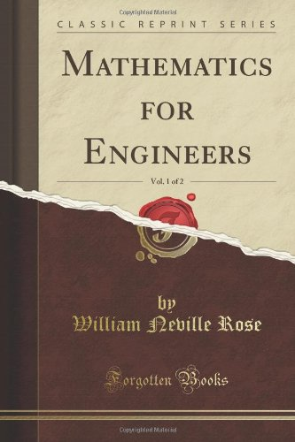 Large book cover: Mathematics for Engineers