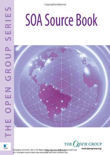 Large book cover: SOA Source Book