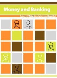 Large book cover: Money and Banking