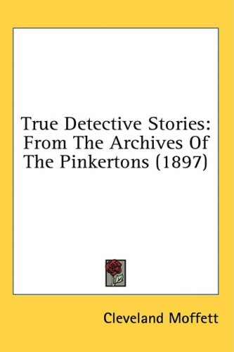 Large book cover: True Detective Stories