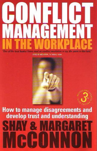 Large book cover: Conflict Management in the Workplace