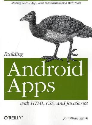 Large book cover: Building Android Apps with HTML, CSS, and JavaScript