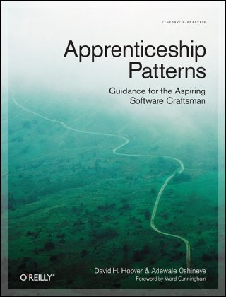 Large book cover: Apprenticeship Patterns: Guidance for the Aspiring Software Craftsman