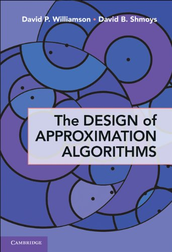 Large book cover: The Design of Approximation Algorithms