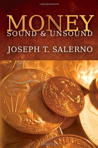 Large book cover: Money, Sound and Unsound