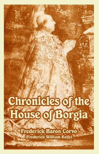 Large book cover: Chronicles of the House of Borgia