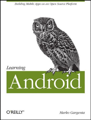 Large book cover: Learning Android