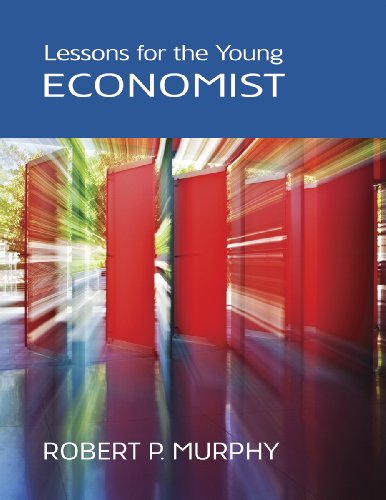 Large book cover: Lessons for the Young Economist